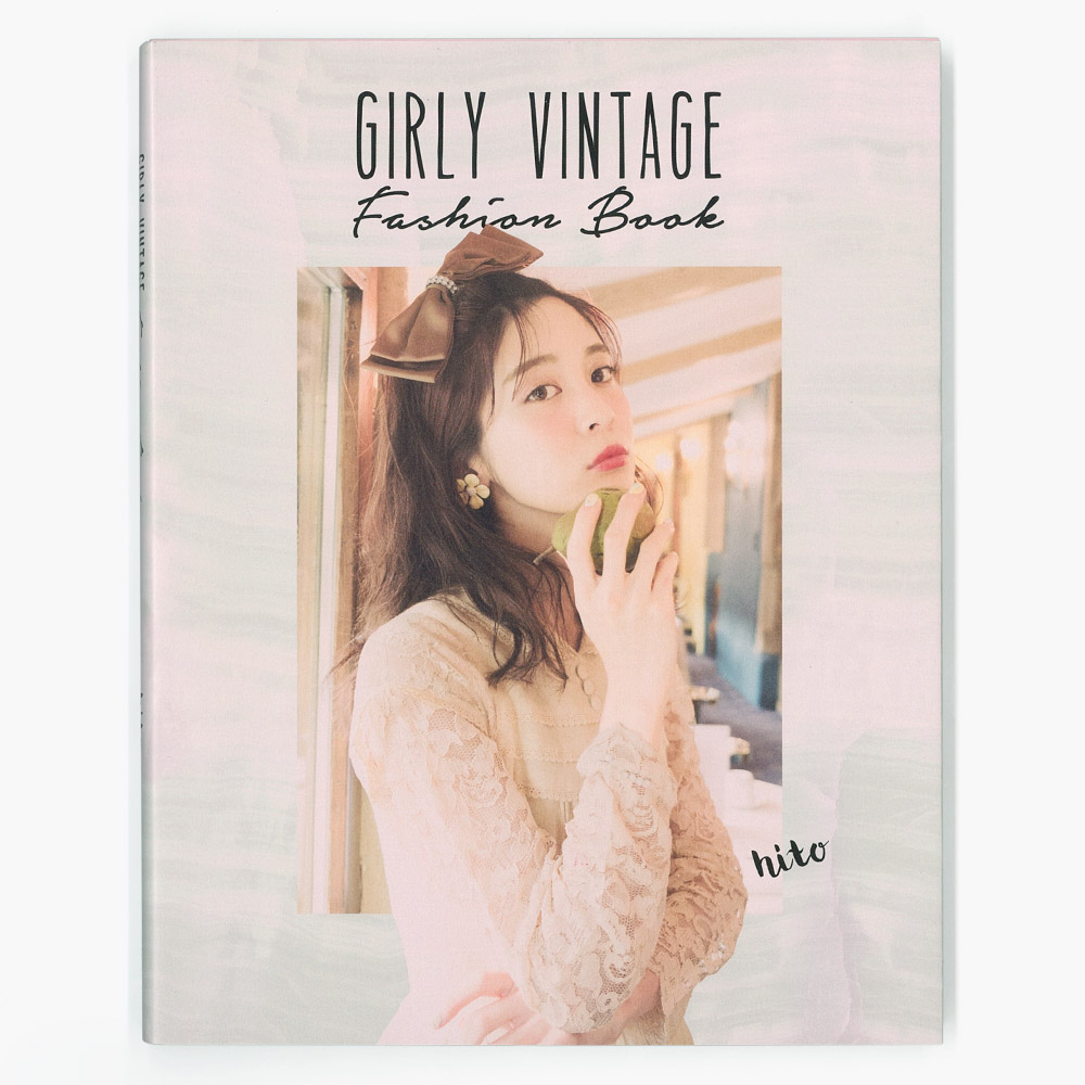 hito,MARTE,野村仁美,ヴィンテージ,装丁,デザイン,GIRLY VINTAGE Fashion Book