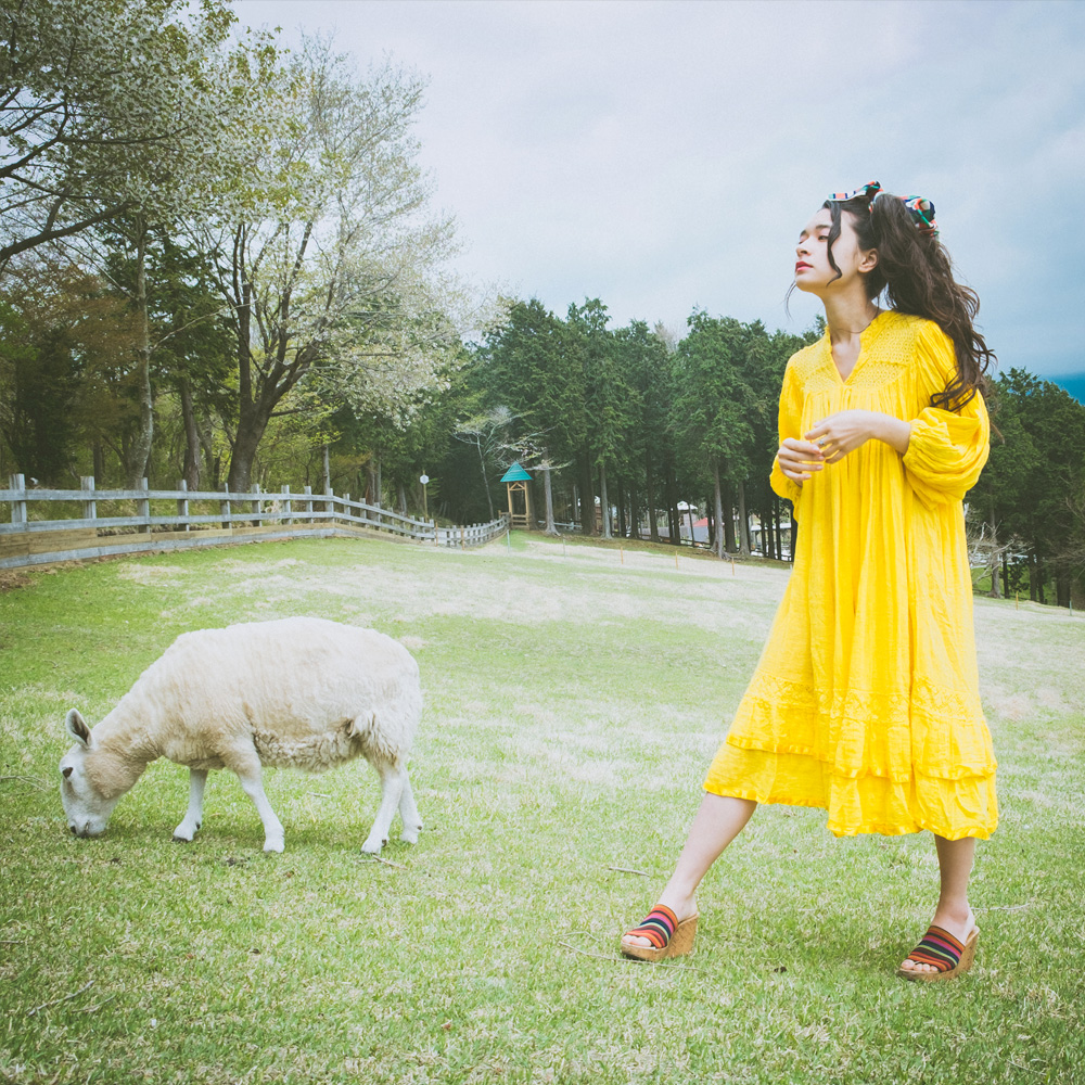 Lemon Yellow Ethnic Dress