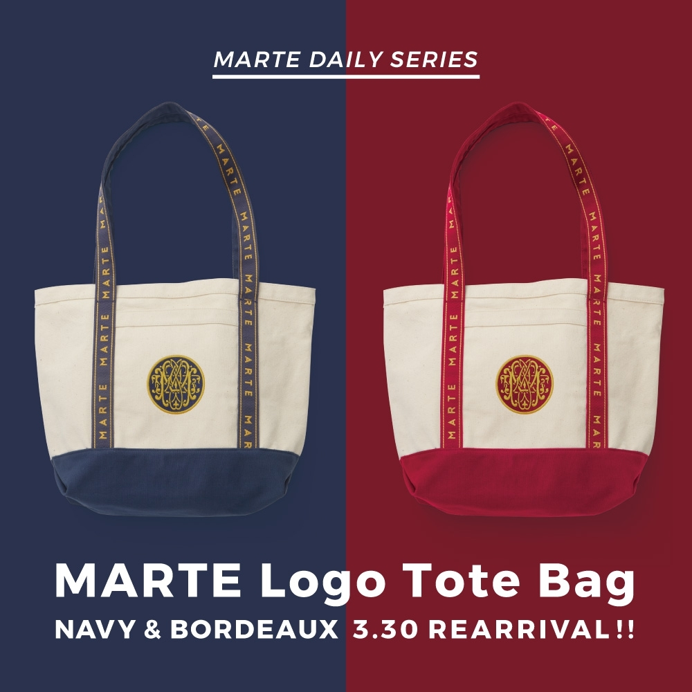 MARTE,Logo,Tote,Bag,Original