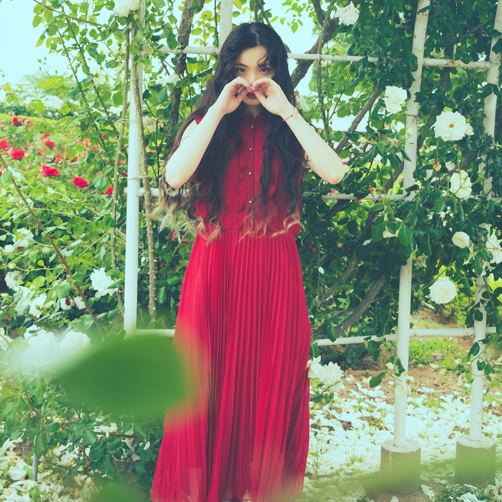 Tiered Petals Onepiece RoseRed