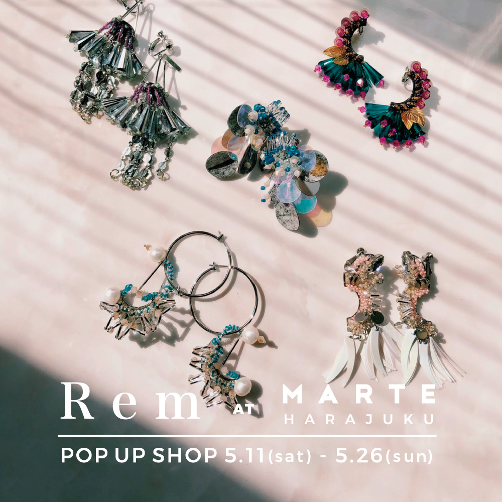 MARTE,ヴィンテージ,古着,原宿,神宮前,POPUP,2019,ss,remfactory