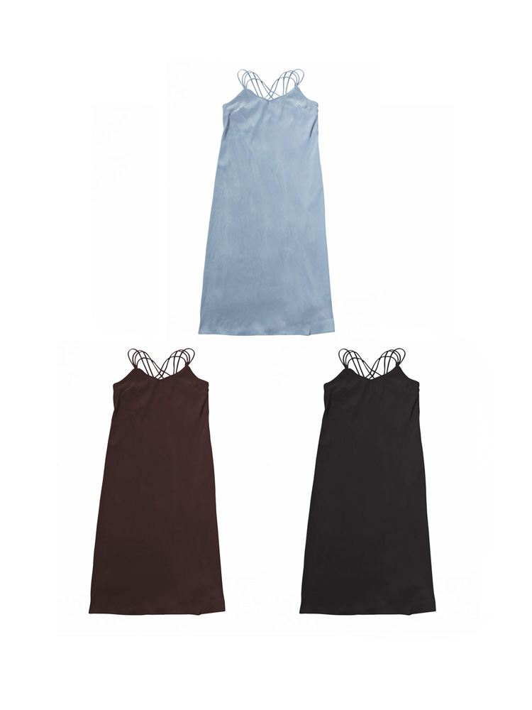 MARTE Back Cross Camisole Dress / 12,000円(税別)
