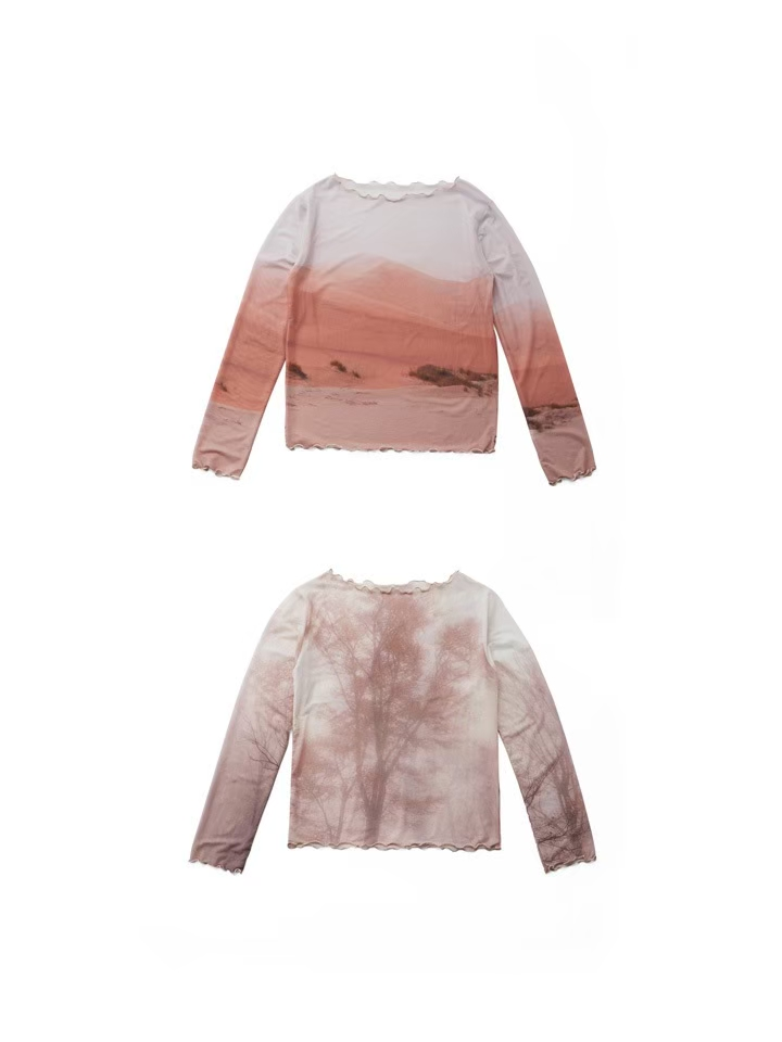 MARTE Nature Sheer Tops / 9,800円(税別)